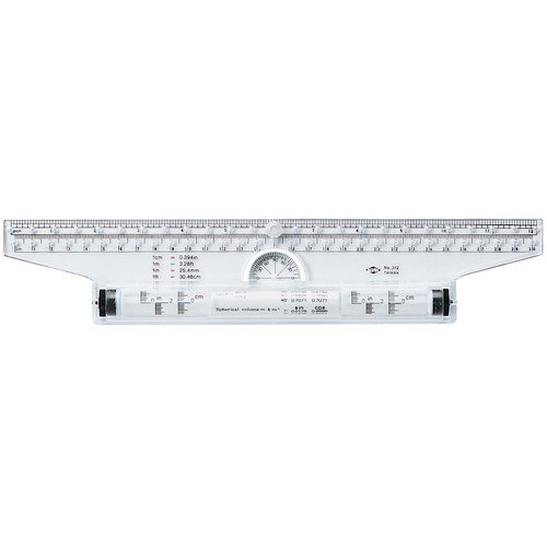 Alvin and Co. Rolling Parallel Ruler