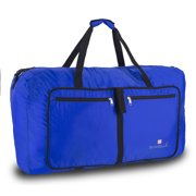 "Suvelle Lightweight 29"" Travel Foldable Duffel Bag For Luggage Gym Sports Water Resistant Nylon Duffle"