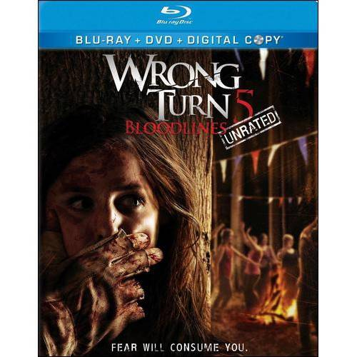 Wrong Turn 5 (Blu-ray   DVD) (With INSTAWATCH) (Widescreen)