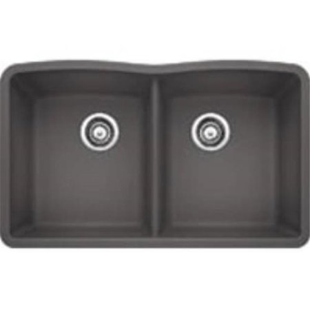 Silgranit Sink Color (Silgranit II Diamond Undermount Equal Double Bowl Kitchen Sink -)