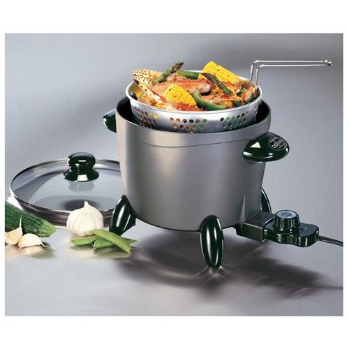 Presto 6003 6 Qt. Options Multi Cooker/steamer (06003)