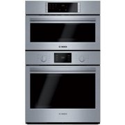 Bosch HBL57M52UC 500 Series Microwave Combination Oven with 10 Sensor Cooking Programs Defrost