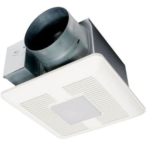 Panasonic FV-1115VQL1 150 CFM 0.5 Sones Ceiling Mounted LED Lit Exhaust Fan with