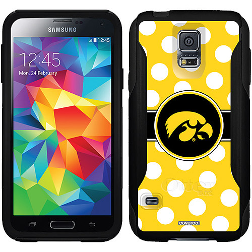 Iowa Polka Dots Design on OtterBox Commuter Series Case for Samsung Galaxy S5
