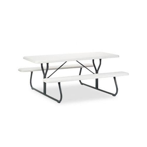 ICEBERG ENTERPRISES Indestructable Too 1200 Series Resin Picnic Table by ICEBERG ENTERPRISES