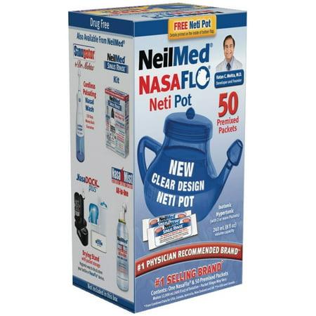 NeilMed NASAFLO Neti Pot 1 Each (Pack of -