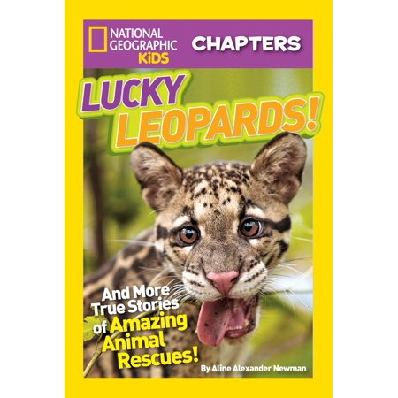 Taupe Leopard - National Geographic Kids Chapters: Lucky Leopards : And More True Stories of Amazing Animal Rescues