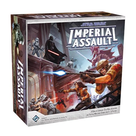 Star Wars Imperial Assault Strategy Board Game Fantasy Flight Games SWI01