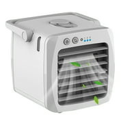 Coofit Mini Air Conditioner Handheld Cooling Personal Air Cooler Humidifer Fan