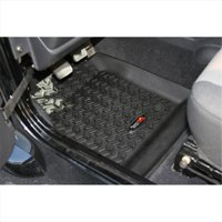 Floor Liner, Front Pair, Black, 1997-2006 Jeep Wrangler, Unlimited TJ