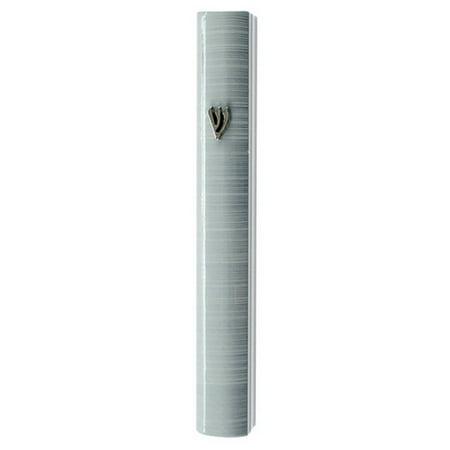 My Daily Styles Aluminum Stripes Classic Mezuzah Case, 5