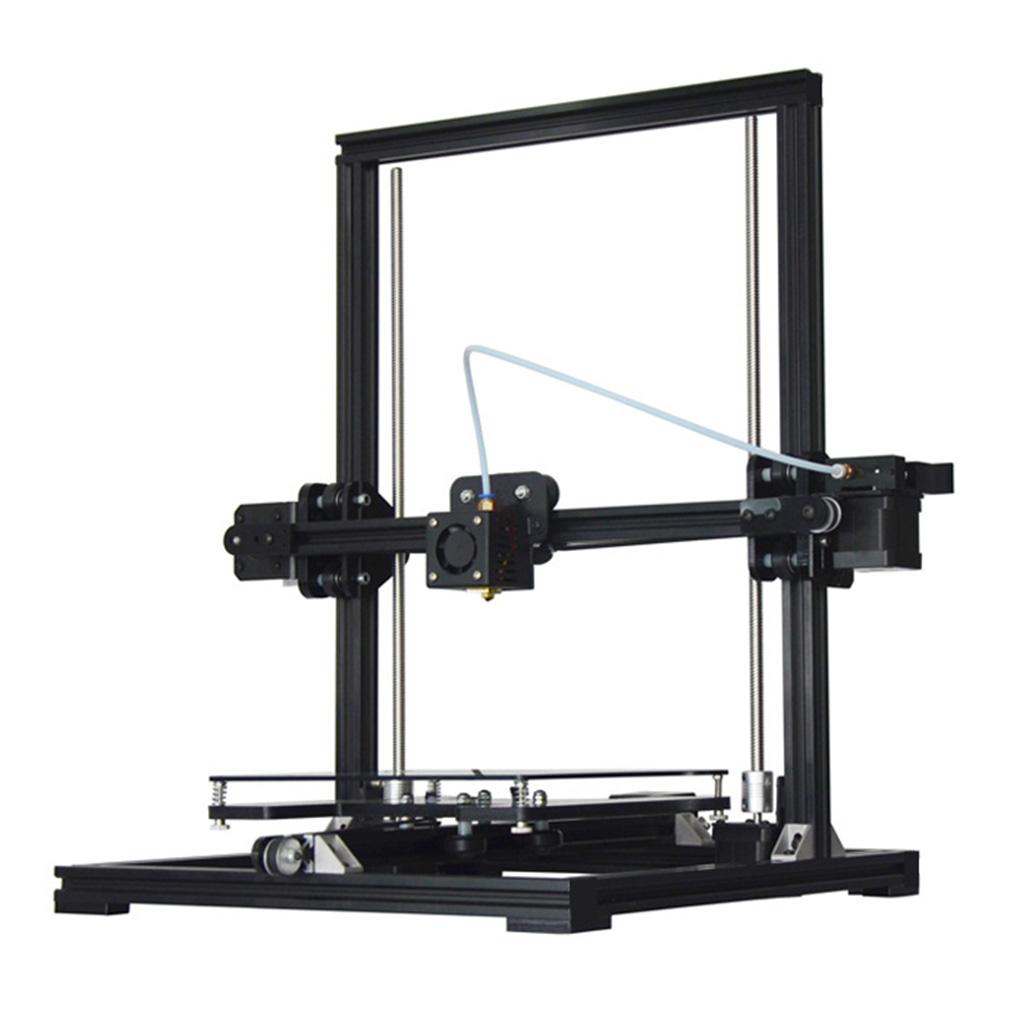 NEW High Quality X3 High Precision 3D Printer With LCD Display Black