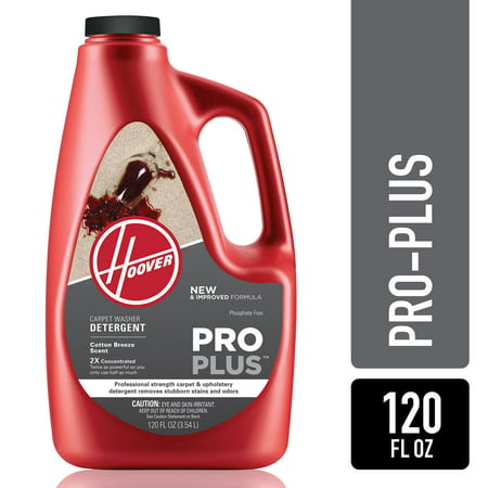 Hoover Pro Plus 2x Carpet Washer Solution 120oz Ah30051nf