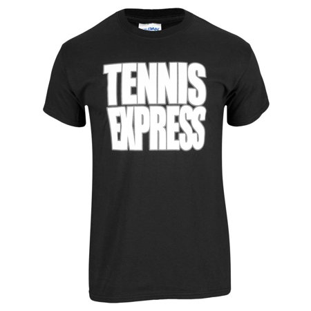 Tennis Express Unisex Tee in Black](Express Men Sale)