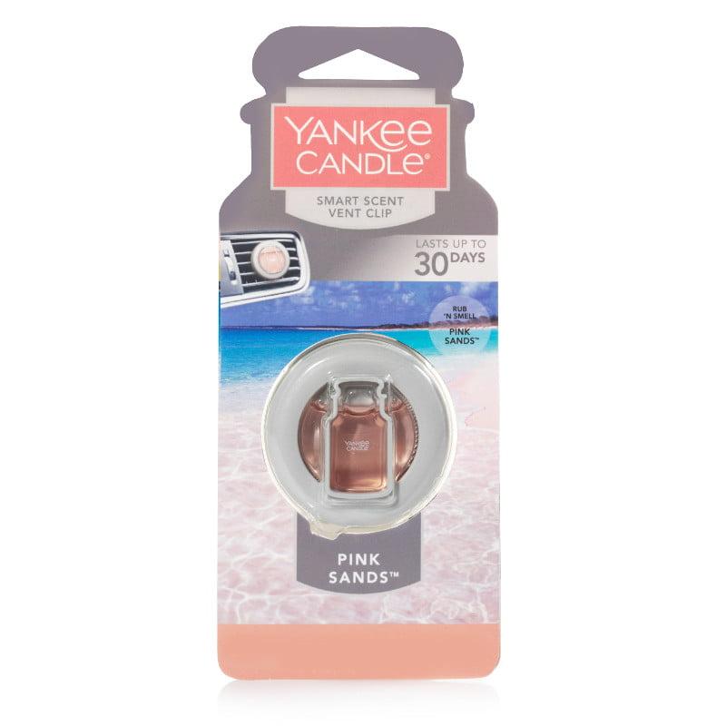 Yankee Candle SmartScent Car Vent Clip, Pink Sands