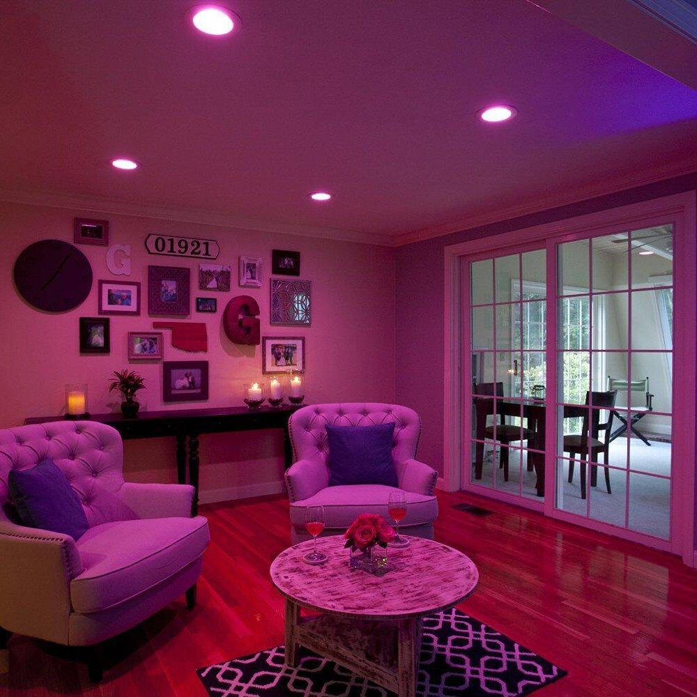 Sylvania Lightify 65W LED Smart Home 2700-6500K Color/White Light Bulb (10 Pack) - image 3 de 7