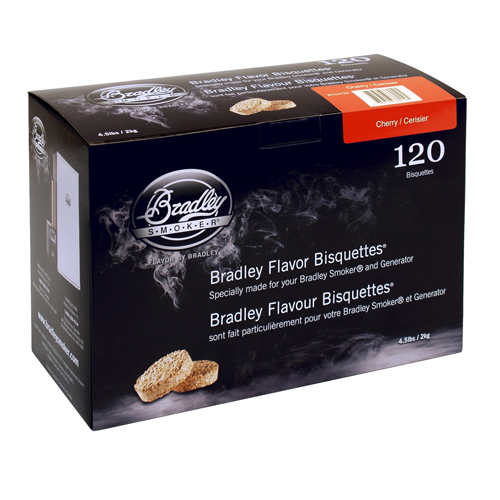 Bradley Technologies Cherry Bisquettes (120 Pack) SKU: BTCH120 with Elite Tactical Cloth