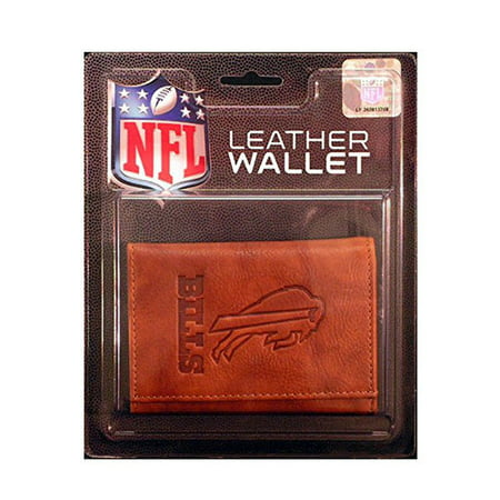 (NFL Buffalo Bills Leather Trifold Wallet)