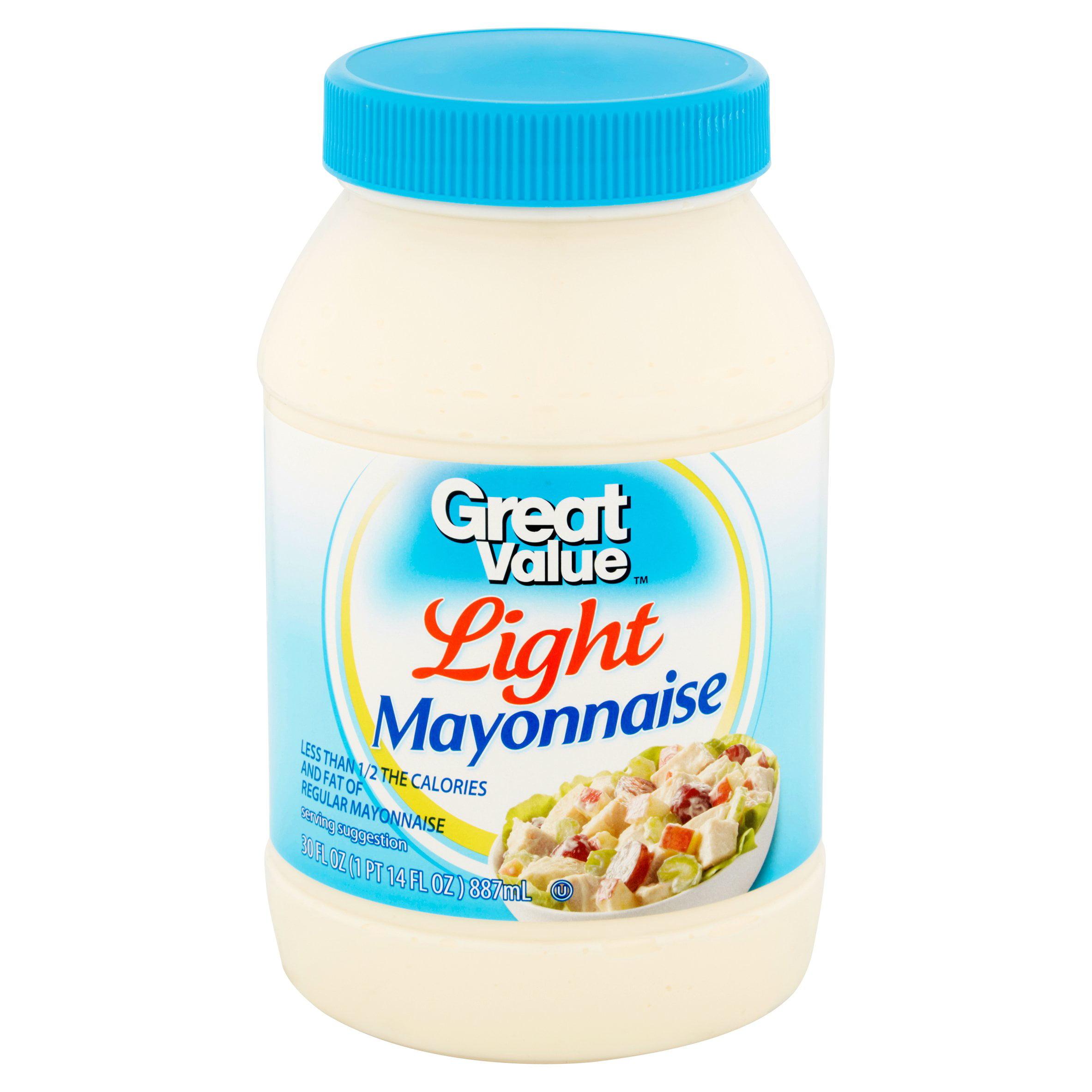 Captivating Great Value Mayo, Light, 30 Fl Oz   Walmart.com