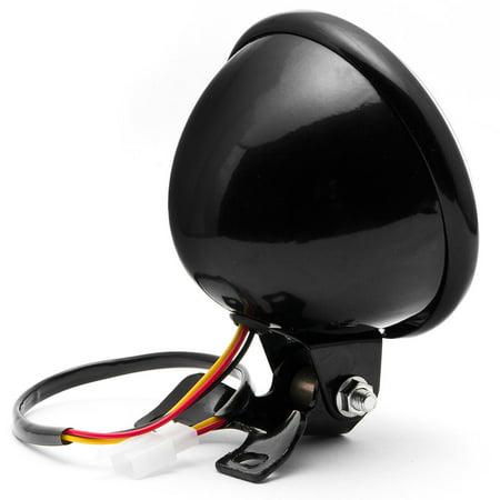 "Krator 5"" Black LED Headlight with Light Mounting Bracket for Harley Davidson Sportster Nightster Roadster 1200 - image 5 of 7"