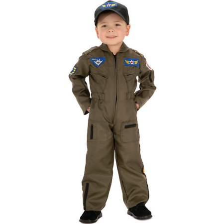 Easy Halloween Costume Ideas From Closet (Boy's Air Force Fighter Pilot Halloween)