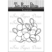 "Two Paper Divas Clear Stamps 6""x4.5""-lol"