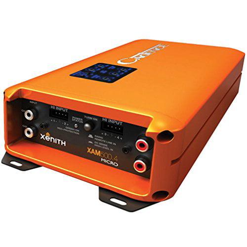 Cadence XAM500.4 Class D Full Range 4-Channel Amplifier