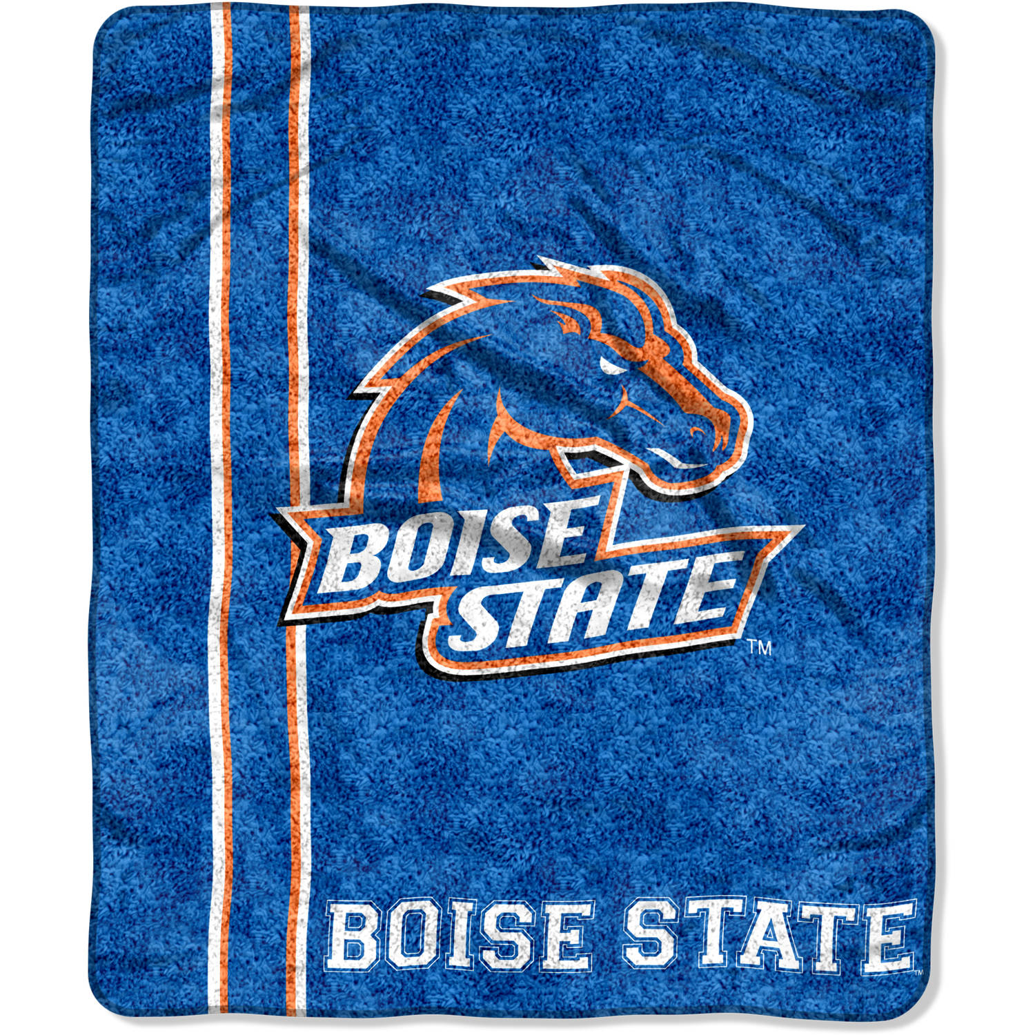 """NCAA Boise State Broncos """"Jersey"""" 50"""" x 60"""" Sherpa Throw"""