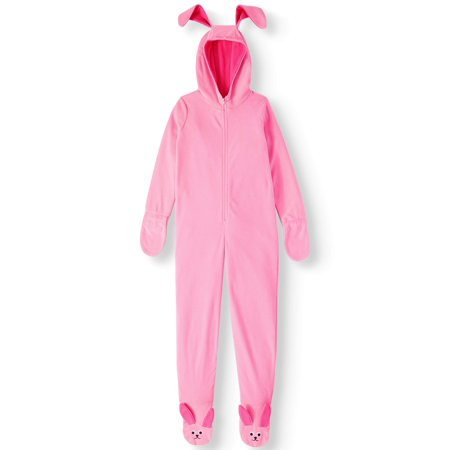 Christmas Story Bunny Pajamas.A Christmas Story Girls Bunny One Piece Costume Pajama