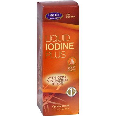 Life Flo Iodine Plus Liq W Potassium Iodide ( 3 Pack), USP Standard With Iodine & Potassium Iodide By LifeFlo,USA