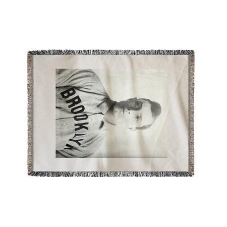 Elmer Stricklett, Brooklyn Superbas (Dodgers), Baseball Photo (60x80 Woven Chenille Yarn Blanket)