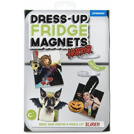 Halloween Dress-up Fridge Magnets, Halloween by Spinning Hat
