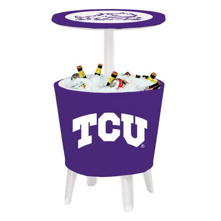 Frog Chest (TCU Horned Frogs Four Season Letter Logo Event Cooler Table - Purple - No Size)