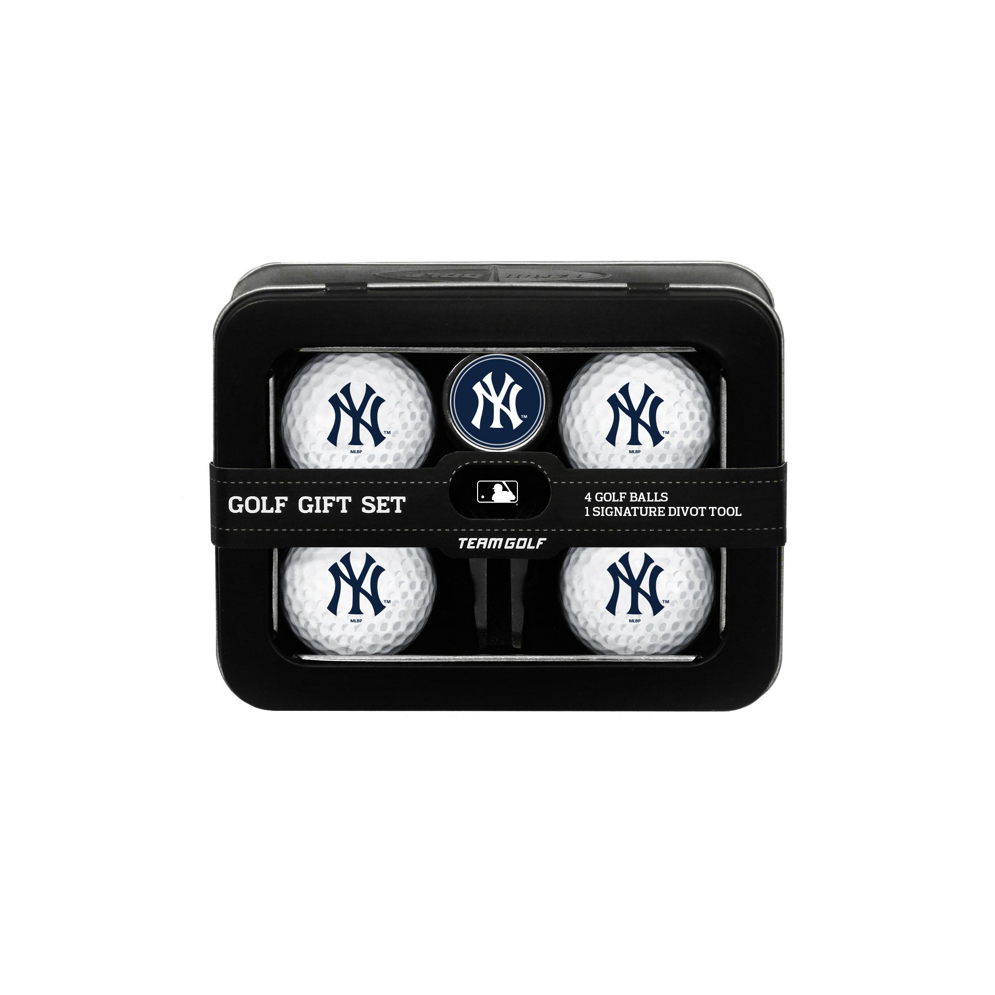 MLB New York Yankees 4 Golf Ball And Divot Tool Set by Team Golf