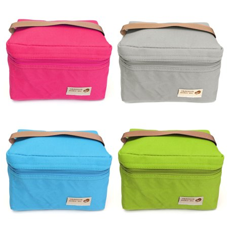 Meigar Portable lunch insulated bags Double Deck Waterproof Thermal Hot Cold Bag Travel Picnic Lunch Storage Box Tote Outdoor Cooler for Office Students to Carry Bento Food](Halloween Cold Lunch Ideas)