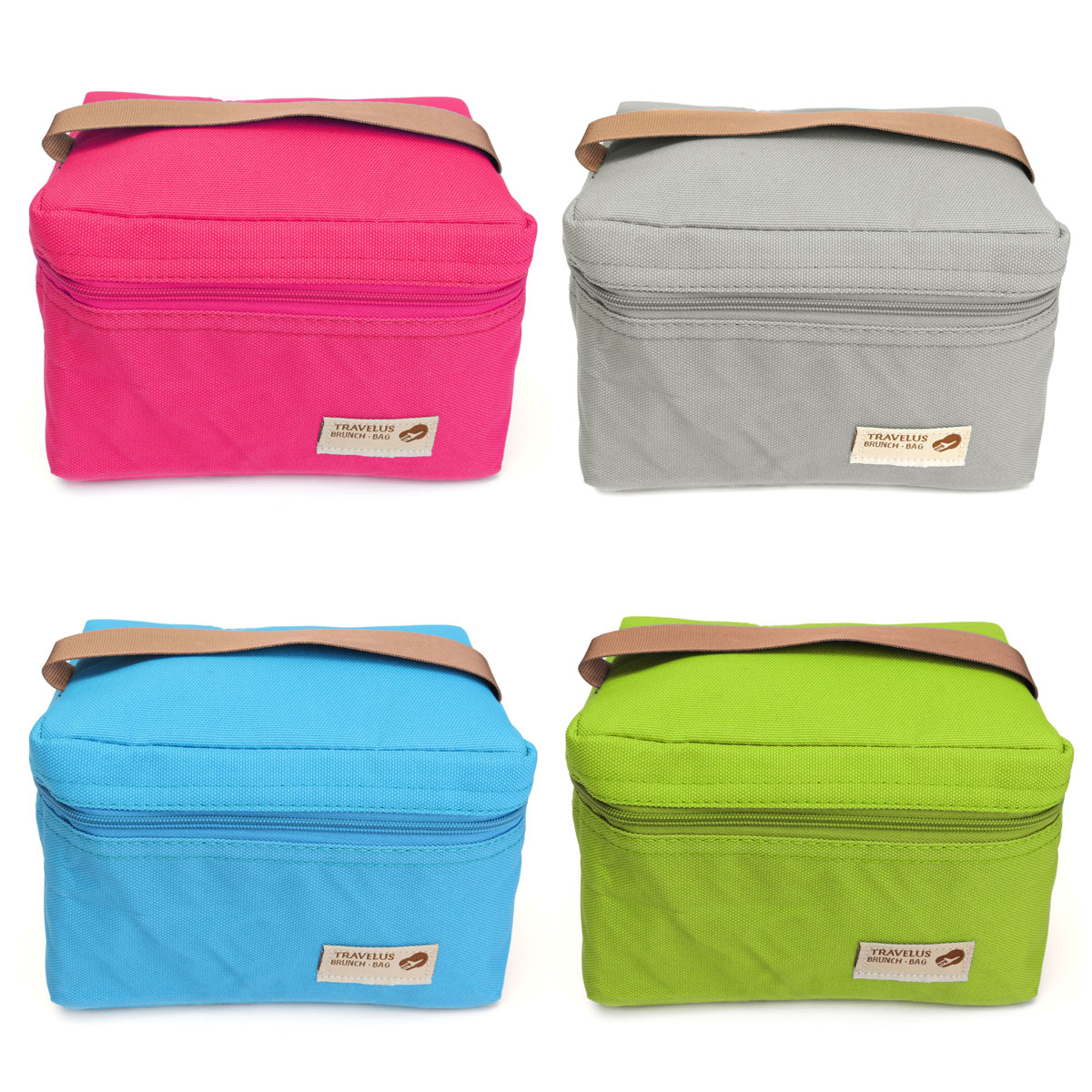 Meigar Portable lunch insulated bags Double Deck Waterproof Thermal Hot Cold Bag Travel Picnic Lunch Storage Box Tote Outdoor Cooler for Office Students to Carry Bento Food