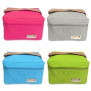 Meigar Portable Lunch Insulated Bags Double Deck Waterproof Thermal Hot Cold Bag Travel Picnic Storage