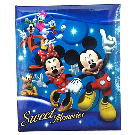 Disney Mickey Mouse and Gang 'Sweet Memories' 200 Picture Photo Album