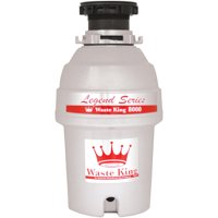 Waste King L-8000 Ez-Mount System, 1 Hp 2800 Rpm, Continuous Feed Garbage Disposal, Jam