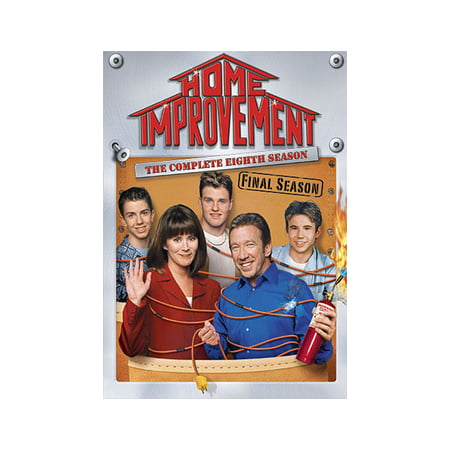 Home Improvement: The Complete Eighth Season (DVD) - Home Improvement Halloween Season 1