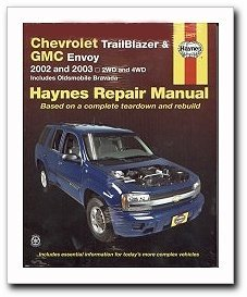 haynes repair manuals chevrolet trailblazer gmc envoy 02 09 rh walmart com 2002 gmc envoy repair manual pdf 2002 envoy repair manual