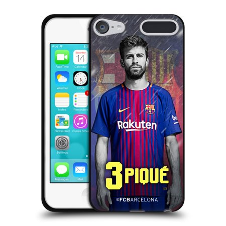 OFFICIAL FC BARCELONA 2017 18 FIRST TEAM 1 BLACK SOFT GEL CASE FOR APPLE  IPOD TOUCH - Walmart.com 0243165ad