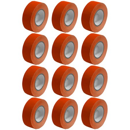 Seismic Audio 12 Pack of Gaffer's Tape - Red 2 inch Rolls 60 Yards per Roll Gaffers Tape - SeismicTape-Red602-12Pack