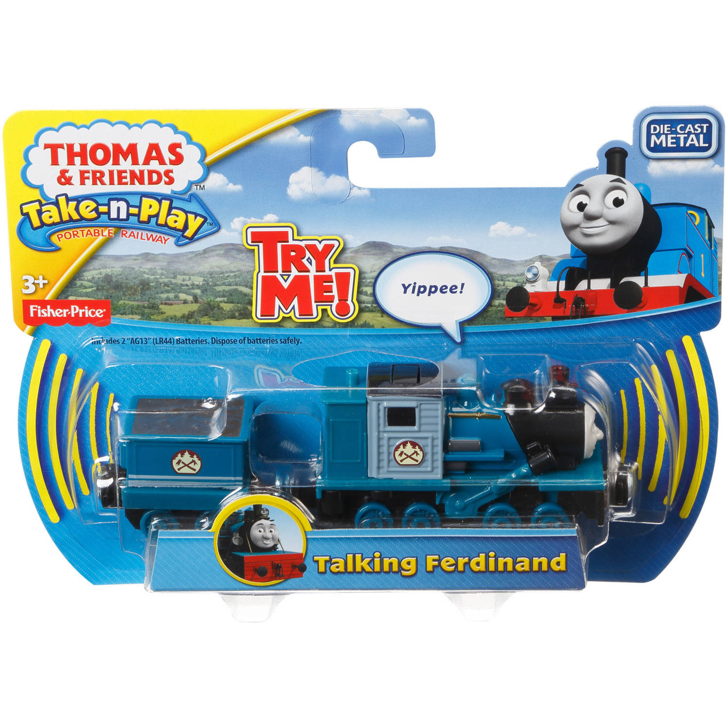 Fisher-Price Thomas and Friends Take-N-Play Large Talking Ferdinand