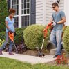 "BLACK+DECKER LCC222 20V MAX* Lithium 10"" String Trimmer & Hard Surface Sweeper + 2 Battery Combo Kit"