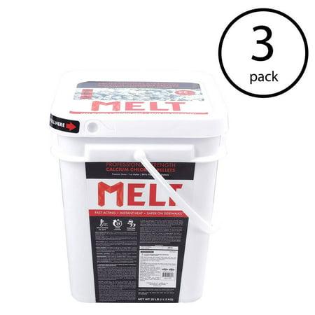 (Snow Joe Snow Ice Melt Pellets Professional Strength Melter, 24 Pounds (3 Pack))