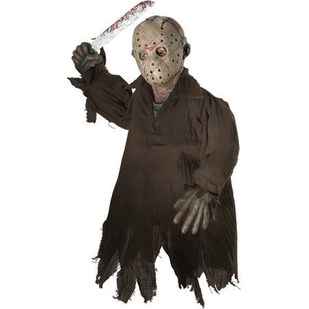 Friday The 13th And Halloween Crossover (Friday The 13th Jason Hanging)