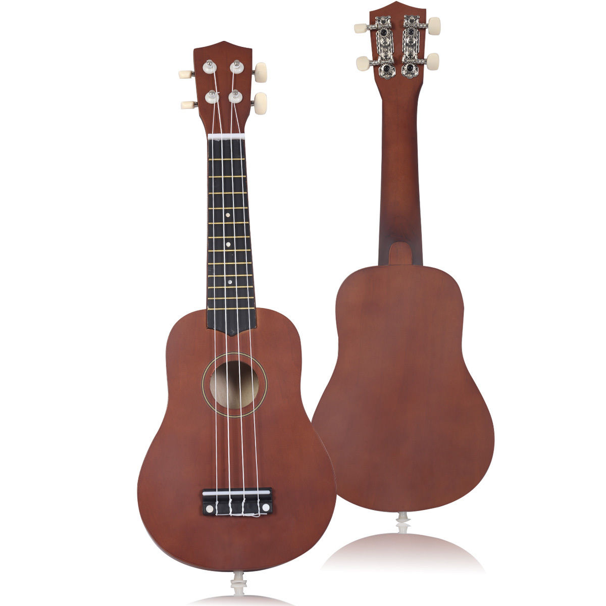 Costway 21'' Acoustic Ukulele Musical Instrument Coffee High Quality Professional by Costway