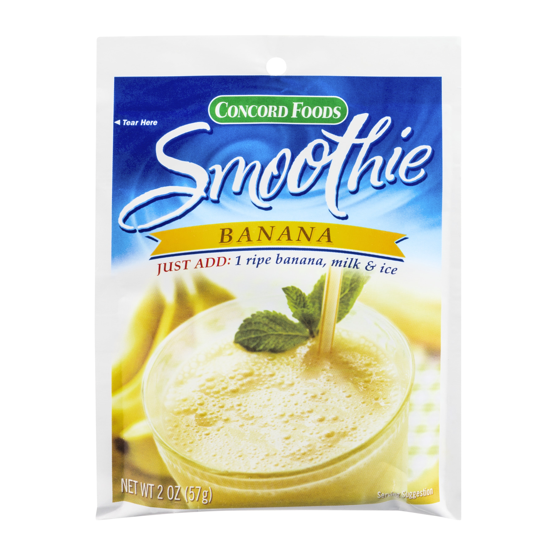 Concord Foods Smoothie Banana, 2.0 OZ