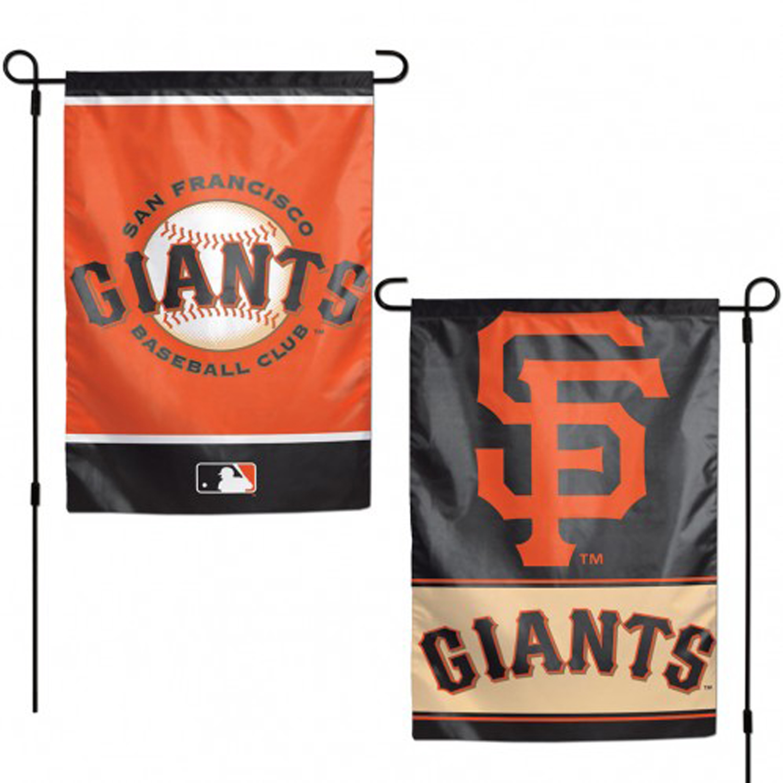 "San Francisco Giants MLB Garden Flag Double Sided Licensed 12"" x 18"""